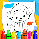 Learning & Coloring Book Game
