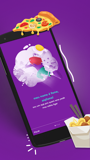 aiqfome - delivery de comida  Screenshots 1
