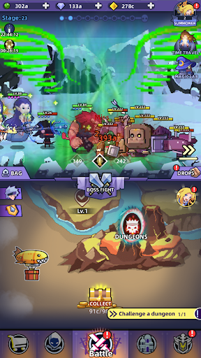Code Triche Idle Summoner : Grand Battle (Astuce) APK MOD screenshots 3