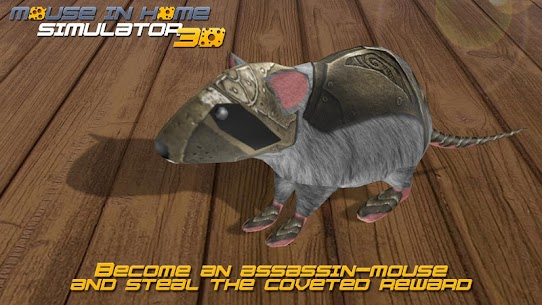Mouse in Home Simulator 3D Mod Apk 2.9 (Unlimited Money, No Ads) 9