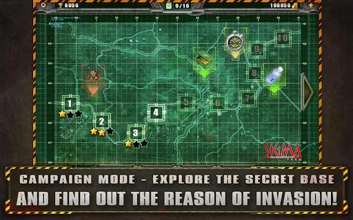 Alien Shooter Free - Isometric Alien Invasion Apkfinish screenshots 10