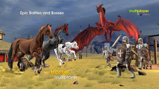 horse multiplayer : arabian screenshot 3