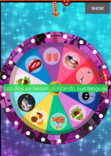 Ruleta de Besos(reto de besos) Apkfinish screenshots 2