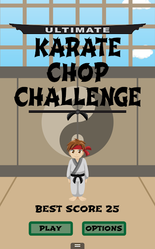karate chop challenge free screenshot 1