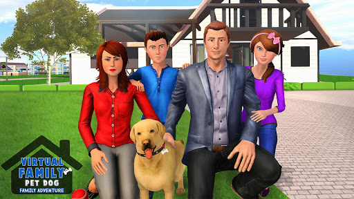 Family Pet Dog Home Adventure Game  screenshots 5