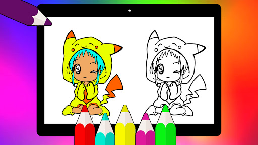 Coloring Pages for Gacha Club 2021 screenshots 12
