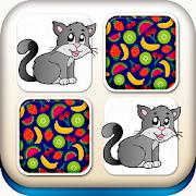 Animals Matching Memory Game For Kids