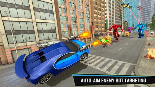 Drone Robot Car Game - Robot Transforming Games screenshots 5