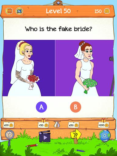 Braindom 2: Who is Lying? Fun Brain Teaser Riddles 1.2.8 Screenshots 8