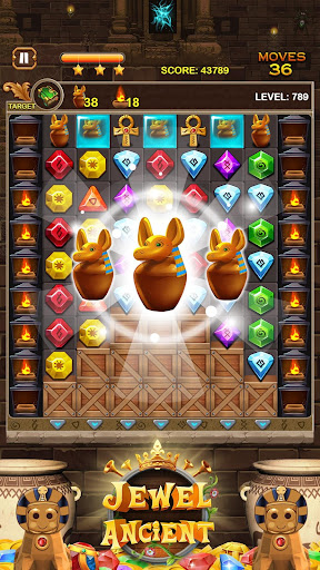 Jewel Ancient: find treasure in Pyramid 2.6.2 screenshots 18