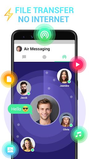 Messenger - Messages, Texting, Free Messenger SMS android2mod screenshots 4