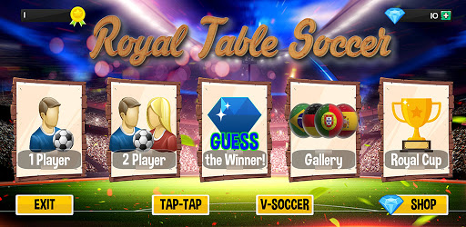 Royal Table Soccer: The Best Button Game apkpoly screenshots 1