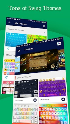 FancyKey Keyboard - Emoji, GIFのおすすめ画像5