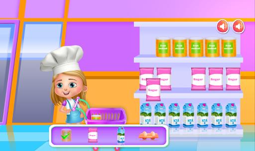 cooking toy bear cake screenshot 1