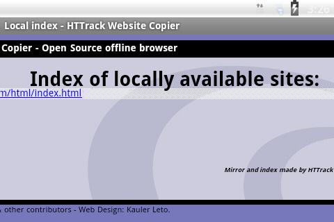 HTTrack Website Copier 3.49.02.63 Screenshots 8