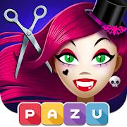 Girls Hair Salon Monsters - Hairstyle kids games