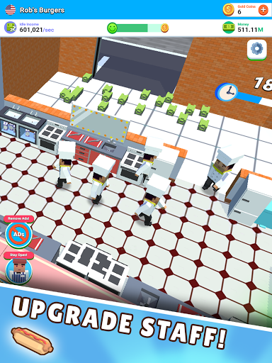 Idle Diner! Tap Tycoon 52.1.156 screenshots 11