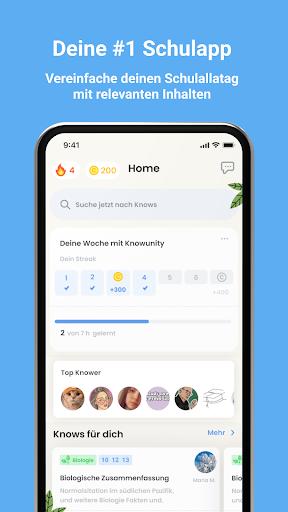 Knowunity - Deine Schulapp. Schule.EndlichEinfach. android2mod screenshots 3