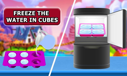Snow Rainbow Ice Cone Maker: Icy Candy fun 1.0.9 screenshots 5