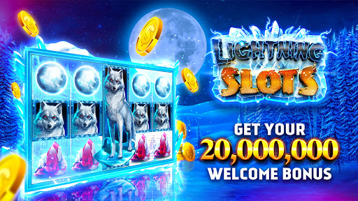 Slots Lightningu2122 - Free Slot Machine Casino Game  screenshots 1