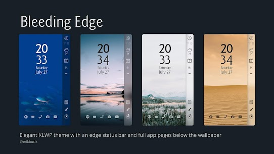 Bleeding Edge [KLWP] For Pc – Free Download For Windows 7, 8, 8.1, 10 And Mac 1