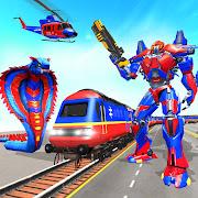 Train Robot Snake Transform Robot Shooting Games