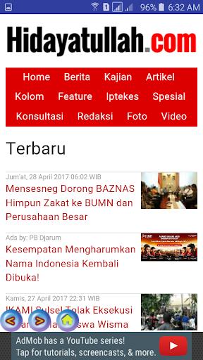 berita islam screenshot 2