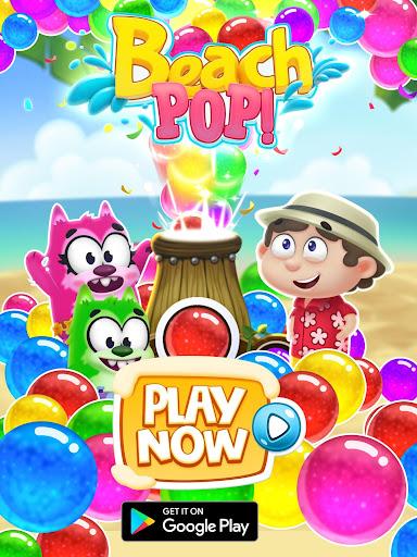 Bubble Shooter - Beach Pop Games 3.0 screenshots 21