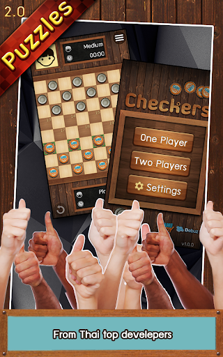 Thai Checkers - Genius Puzzle - u0e2bu0e21u0e32u0e01u0e2eu0e2du0e2a 3.5.179 screenshots 5
