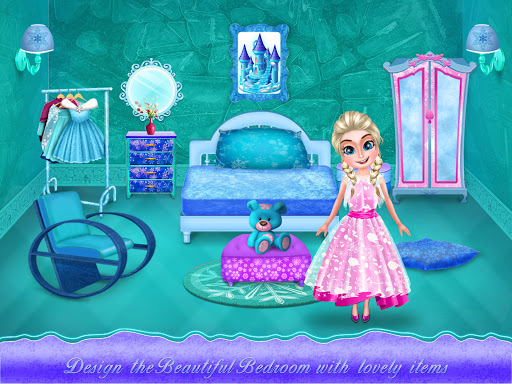 Ice Doll House Design: Decoration games 1.0.7 screenshots 4