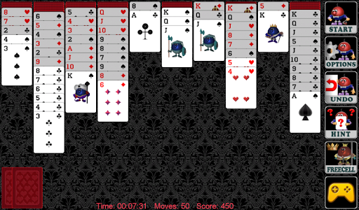 Spider Solitaire 1.19 screenshots 1