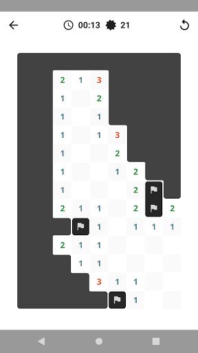 Antimine: no guess minesweeper  screenshots 1