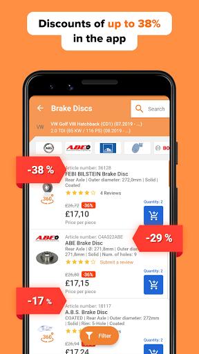 AUTODOC u2014 Auto Parts at Low Prices Online apktram screenshots 4