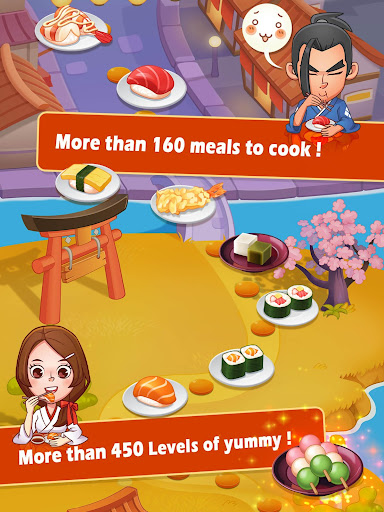 Sushi Master - Cooking story screenshots 6