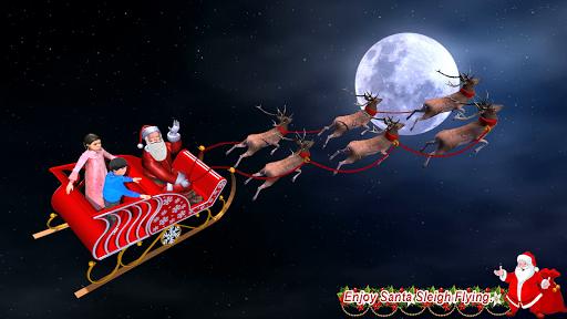 Christmas Flying Santa Gift Delivery apkdebit screenshots 8