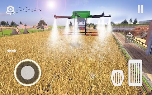 Real Tractor Farming Game 2021  Modern Farmer Apk Download 3
