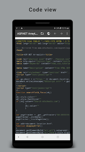 HTML Reader/ Viewer android2mod screenshots 3