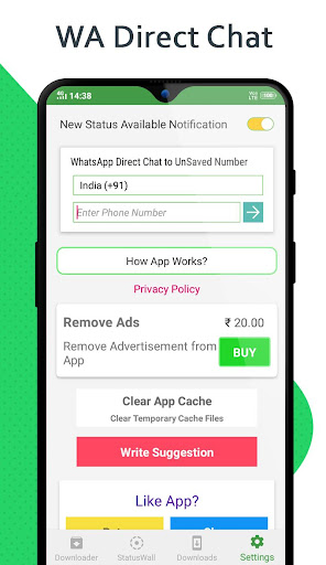 Status Saver - Download for Whatsapp android2mod screenshots 4