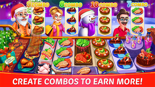 Christmas Cooking : Crazy Restaurant Cooking Games 1.4.42 screenshots 13