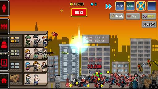 Télécharger Gratuit 100 DAYS - Zombie Survival mod apk screenshots 5