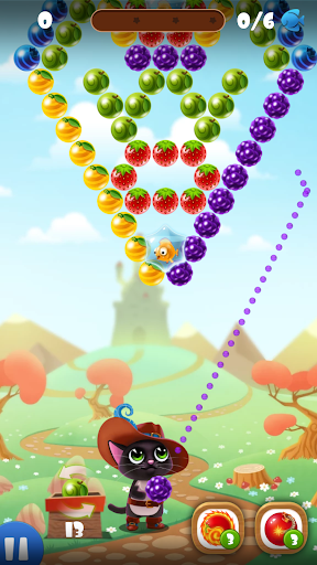 Fruity Cat -  bubble shooter! 2.0.2 screenshots 1