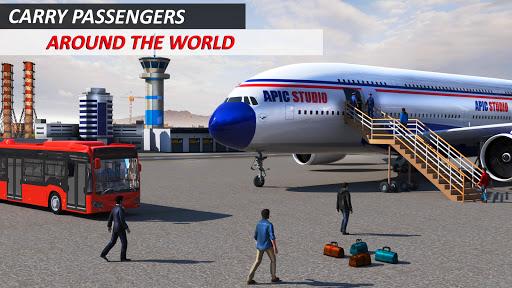 Airport Flight Simulator 3D 1.0.1 screenshots 1
