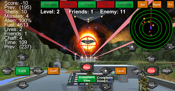 Armour Helicopter vs Aliens 1.0.20 Android Mod APK 3