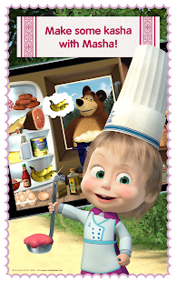 Masha and Bear: Cooking Dash