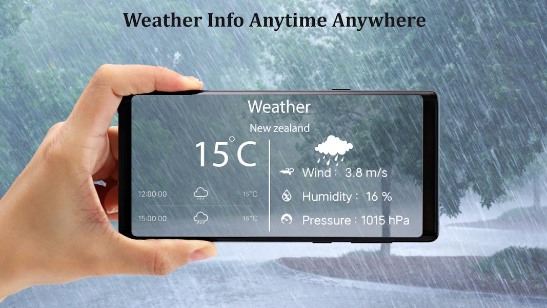 Live Weather -Daily Forecast & Radar Widget Update