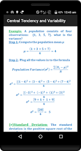 Statistics Quick Reference Pro