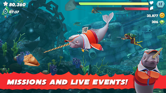 Hungry Shark Evolution MOD APK 8.2.0 (Unlimited Money) 5