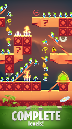 Lemmings - Puzzle Adventure apkmartins screenshots 1
