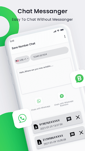 Chat Open in WHatsapp : Without Save Number  screenshots 2