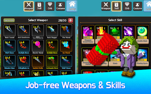 Hero Craft : Weapon, Character Skin Craft RPG [v1.85] APK Mod for Android logo